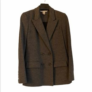 Grey wool jacket in very good condition size 2